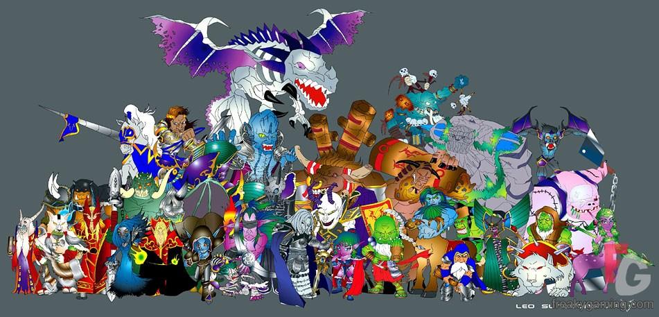 Warcraft Version Switcher Patch 123 - 124 Download
